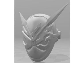 new kamen rider helmet