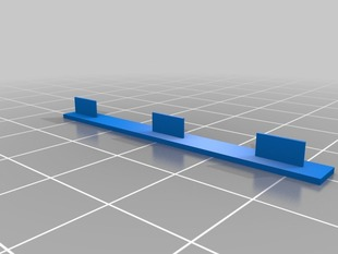 Retract calibration object - Single Width Seperated Walls