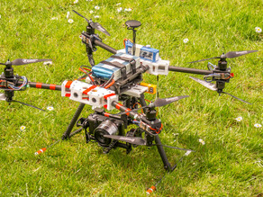 INFINITY One v2.0a - 3d printable Octocopter
