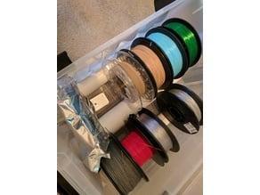 Basic dry filament storage