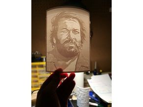 Lithophane - Bud Spencer