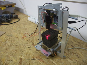 Pocket Laser Engraver (structure)
