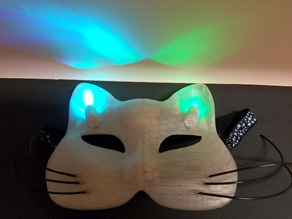 LED Cat Masquerade Mask