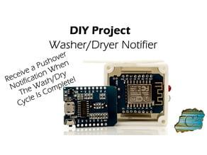 Washer/Dryer Notifier  (ESP8266/Arduino/d1 mini)