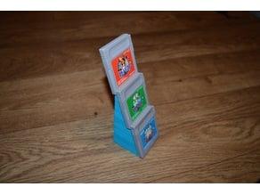 Gameboy Cartridge Display Holder - 3 Cartridges