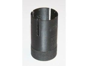 Fluorescent tube starter removal tool