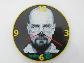 Reloj Breaking Bad 3D