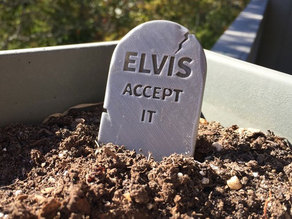 Customizable Head Stone - Grave Stone for Halloween!
