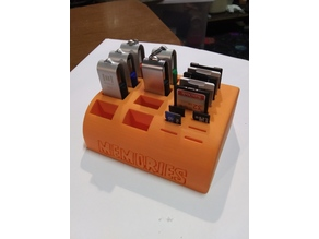 """Memories"" SD, Micro-SD & Thumb Drive Memory Card Caddy/Holder"