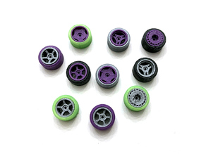 1:64 Wheels 01-05 Revisited (Size Medium)