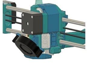 BMG and X axis Prusa (steel/bear/zaribo/mk2) NO filament sensor