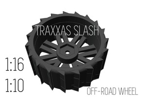 OFF-ROAD Traxxas Slash tire - 1/16 + 1/10