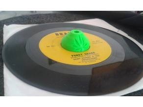 "7"" 45rpm Vinyl Record Dome Adapter | Adaptador discos 7 pulgadas"