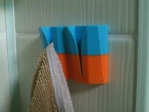 Universal towel hanger