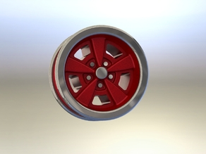 1:25 Camaro RS Wheels