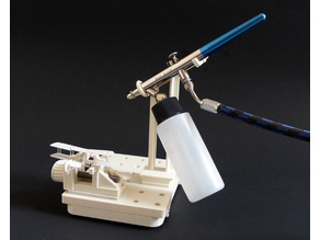 Airbrush Stand for Modular Clamping System
