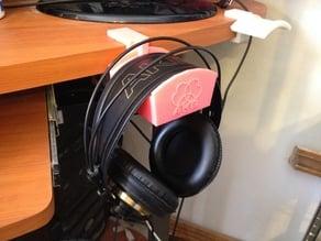 Headphone Hanger - Universal - Fits Any Desk/Table/Shelf