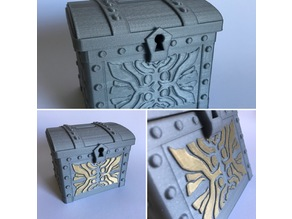 Coin Chest with printed hindge