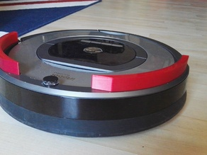 Bumper Extension for Roomba