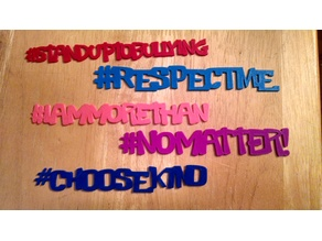 Anti-Bullying Hashtags
