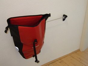 Bicycle bag holder