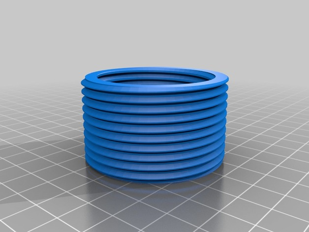 Yet another thread library for OpenSCAD by arpruss - Thingiverse