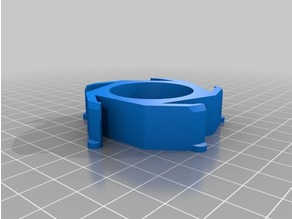 Ender-3 to 3d Solutech Hub Adapter