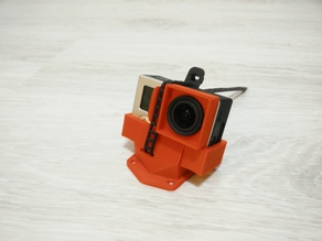 ZMR 250 GoPro hard mount 20°
