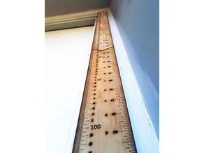 Height Measuring Growth Ruler/Chart