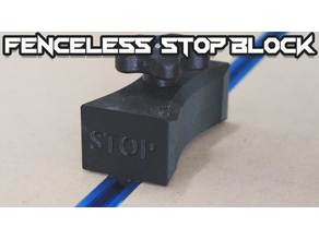 Fenceless Stop Block