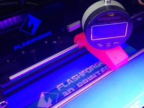 Dial Indicator Jig - FlashForge Creator Pro and Makerbot Rep2