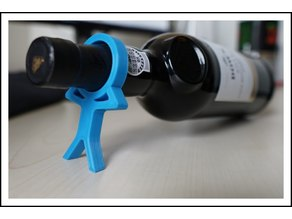 Head Wine with wide stand
