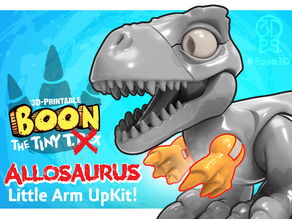 (Arms ONLY) Boon the Tiny T. Rex: Allosaurus UpKit - 3DKitbash.com