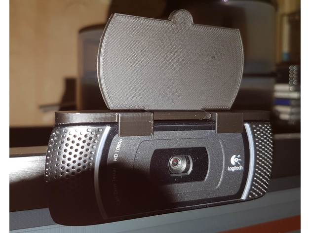 Logitech C910 Webcam Privacy Cover By Avise Thingiverse