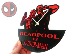 Reloj DEADPOOL VS SPIDER-MAN