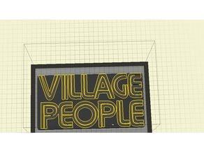 Village People (Band) Keychain
