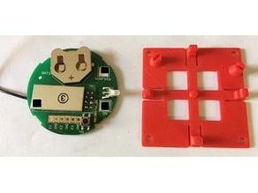 Halter fuer Homematic Module  HM-SCI-3-FM, HM-SwI-3-FM und HM-PBI-4-FM