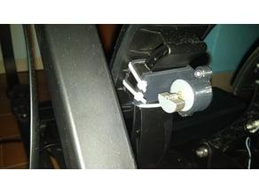 Fanatec CSL Elite Pedals motor rumble mount