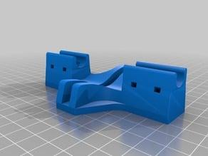 Prusa MK2S Frame brace perpendicular helper - Removable