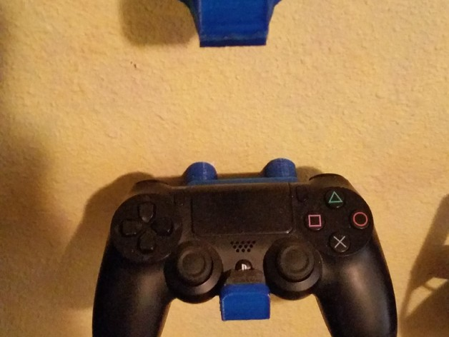 Ps4 Playstation Controller Wall Mount By Yanez Thingiverse