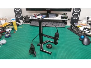 microscope adjustable stand