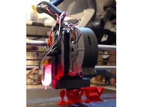 JGAurora A5 blower fan duct