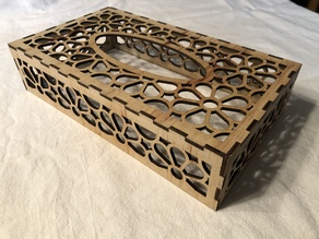 Laser Cut Tissue Box #3