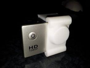 Lens cap for SJ4000 camera (GoPro lookalike)