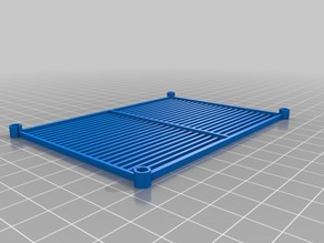 105x75 mm Wire Shelves (1/18 scale)