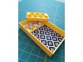 Dice Holder and Dice Tray