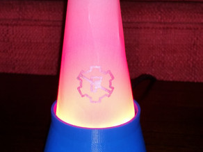 Programmable Accent Lamp for Rapid Prototyping Course