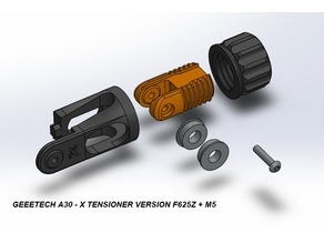 Geeetech A30 Mod - X Axis Tensioner
