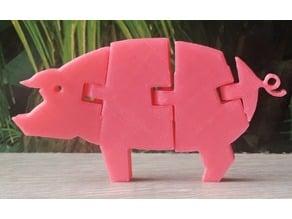 Flexi pig - Articulated pig