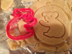 Koala cookie cutter